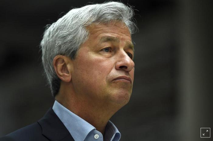 Гендиректор JPMorgan Даймон видит экономический рост США до 2023 года
