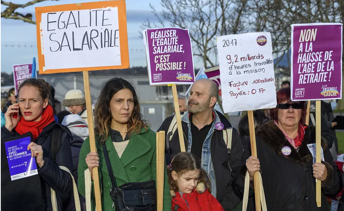 Гендерный разрыв в оплате труда между мужчинами и женщинами в Швейцарии усиливается